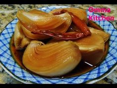 How to pickle onion in soy sauce without boiling (양파장아찌)  by Omma's Kitchen