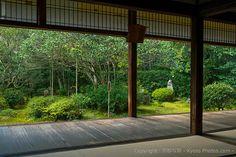 縁側 Verandah,  地蔵院 Jizoin