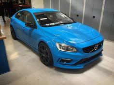 Got to see the S60 Polestar concept in the flesh while visiting @cyanracing #VolvoPolestar, #PerformanceBySweden #VolvoMV, #VolvoMoment #Volvo #VolvoS60Concept #swedespeed #S60