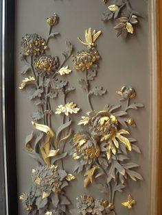 Фото из статьи: Записки дизайнера: шедевры лепнины в окне одного красивого дома