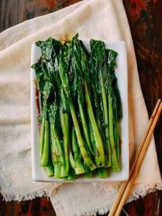 Easy Chinese Yu Choy Sum - December 01 2018 at - Amazing Ideas - and Inspiration - Yummy Recipes - Paradise - - Vegan Vegetarian And Delicious Nutritious Meals - Weighloss Motivation - Healthy Lifestyle Choices Choy Sum Recipe, Edamame, Pork Belly, Chinese Food, Chinese Side Dishes, Chinese Meals, How To Cook Pasta, Asian Recipes, Chinese Recipes