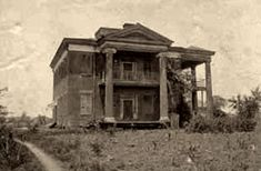 John J. Crocheron owned a home in Old Cahawba, the state's first capital and now a ghost town. The home, built in 1847, burned in the early 1900s, leaving some of the columns