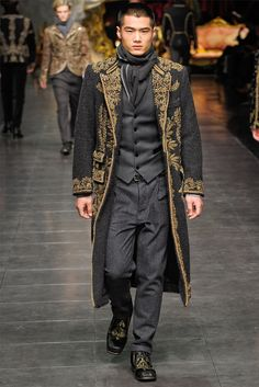 Dolce & Gabbana - Men Fashion Fall Winter 2012-13 - Shows - Vogue.it