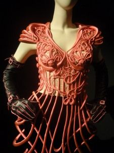 Jean Paul Gaultier  #fashion #body #structure