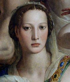 Bronzino - Costanza da Sommaia (Detail from Christ's descent into Limbo)