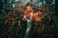"""The Tempest"" —  Photographer: Bella Kotak Model: Camille Starr Prestwich"