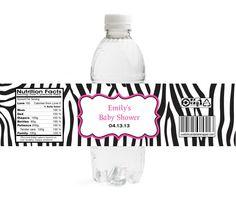 Zebra Girl Baby Shower