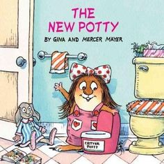 Little Critter sure knows how to be a good big brother! He even helps his little sister learn how to use the new potty. We love the Little Critter books.
