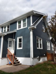 The color is so attractive and the trim is #PVC or #Azek for the installation. Royal Celect Siding installations in Bergen County. vinylsidingnewjersey.com (973)795-1627