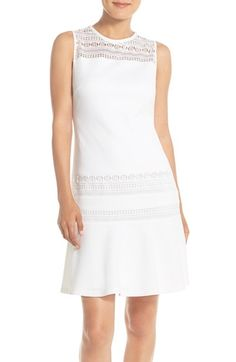 Ivanka Trump Knit Fit & Flare Dress available at #Nordstrom