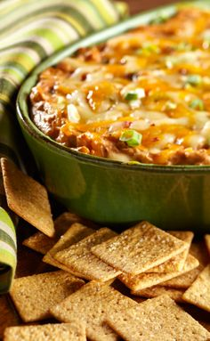 We love savory dips for after-school snacking. This BBQ Chicken Dip transforms leftover chicken into a great next-day treat.