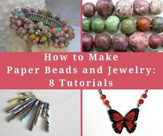 Whether you're turning trash into treasure, repurposing random odds and ends, or upcycling old accessories, there are so many ways to make recycled jewelry. Find 14 ideas in this collection of Chic Recycled Crafts: 14 Recycled Jewelry Tutorials.
