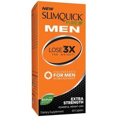 Slimquick Pure Men Extra Strength Weight Loss Dietary Supplement Caplets.  The only weight loss supplement engineered specifically for men.