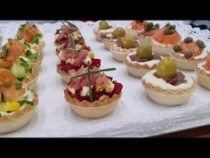 Canapes Faciles, Recipe For 4, Finger Foods, Catering, Sushi, Buffet, Brunch, Food And Drink, Appetizers