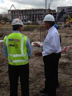 Rep. Jeff Miller, R-Fla., (@RepJeffMiller): At the construction site of the New Orleans #VA Medical Center  @Vera Moore pic.twitter.com/nI4AvBdbtU