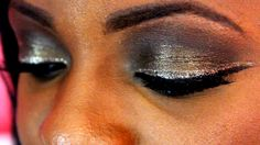 2015 Smokey Prom Make-up Look For Dark Skin Girls Using Too Faced Chocol...