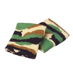 Go incognito with this camouflage wristband. Accessorize your attire with this army green camo wrist band. Keep the sweat off your hands while making a fashion statement with these stretchy cloth Wrist bands. Stock up on all your camouflage, military