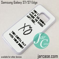 Samsung Quote Gorgeous The Weeknd Xo Quotes Deal11133 Samsung Phonecase Cover For Samsung . Design Ideas