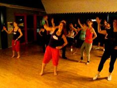 ▶ Masala Bhangra® Masterclass in Poland W/Master trainer Tina Thomsen - YouTube