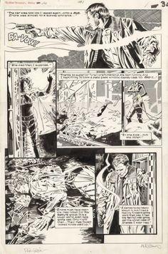 Al Williamson artwork on Marvel Comics' Bladerunner adaptation of the amazing Ridley Scott movie!
