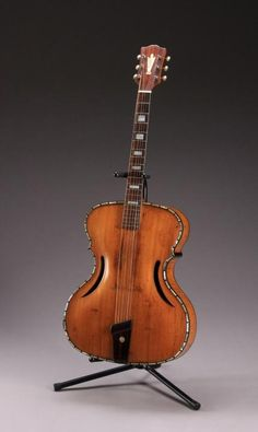 Johnny Cash's Wilkanowski & Son's Acoustic Arched Top Guitar