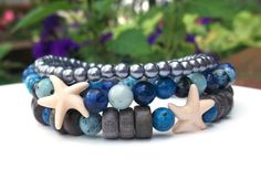 Ocean Bracelet with Starfish