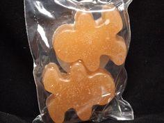 Cinnamon Bun Scented Gingerbread Man Shaped Wax by bodybuddiessoap
