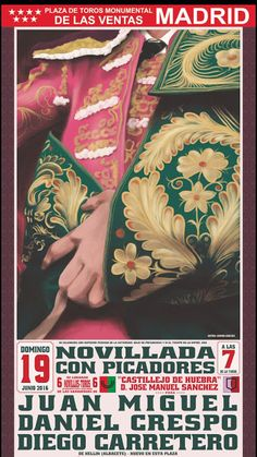 madridbullfight.com: Cartel novillada 19 Junio