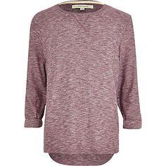 Red textured marl t-shirt 22,00 €