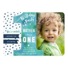 boy first birthday invite 1st birthday printable invitation navy