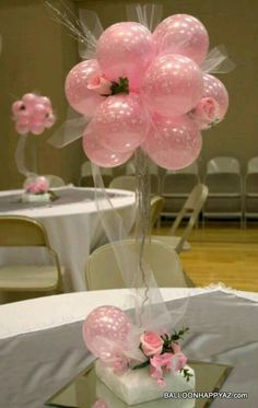 Attractive and affordable, balloons crop up everywhere in the wedding scene. Check out these magically beautiful wedding balloon decorations. Wedding Balloon Decorations, Party Decoration, Wedding Balloons, Birthday Decorations, Baby Shower Decorations, Topiary Centerpieces, Balloon Centerpieces, Wedding Centerpieces, Shower Centerpieces