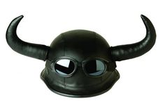 Horned motorcycle helmet...Because its a classic