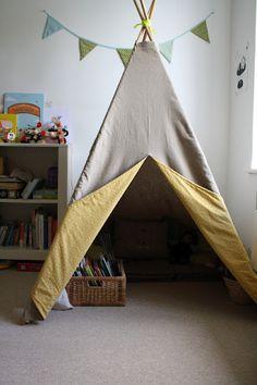 Coin de relaxation...Crédit idée (livre): Petits riens pour la chambre d'enfant