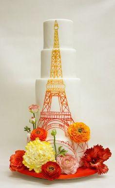 La tour Eiffel en fondant