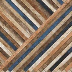 Produtos - Ceusa Revestimentos Cerâmicos - Linha Decorative - Deck Diagonal Vintage - Exemplo de Variação 03