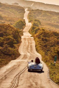 Let's drive this convertible down this winding road ♥ Loved and pinned by www.enterpriseglass.
