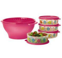 Tupperware | Flower Fiesta Salad Set http://my2.tupperware.com/tup-html/S/sherryrounsville-welcome.html