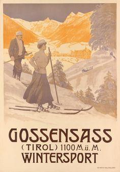Travel Ads, Travel And Tourism, Vintage Ski Posters, Vintage Ads, Harry Potter Poster, Tourism Poster, Reproduction, Art Graphique, Winter Theme
