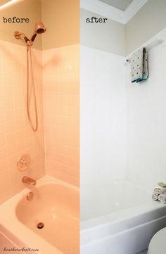 Painting Tile In Bathroom