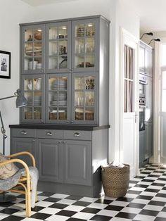 18 ideas for kitchen ikea ideas design storage Grey Kitchen Cabinets, Home Kitchens, Kitchen Remodel, Kitchen Design, Kitchen Inspirations, Kitchen Dining Room, Kitchen Island Design, Grey Kitchen, Grey Kitchens
