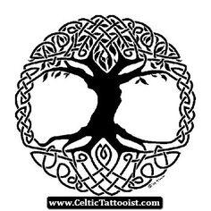 Celtic Tattoos Tree Of Life 10 - http://celtictattooist.com/celtic-tattoos-tree-of-life-10/