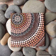 Tablero pintura de acrílico decoración marrón por RaechelSaunders