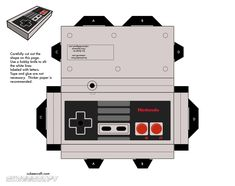 Paper NES Controller.