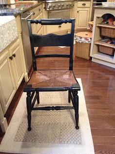Old Chair, New Use ~ <big>The Bee Skep</big>