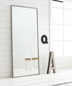 hovet mirror ikea- this is one of those rare great things from ikea that looks more expensive than it is