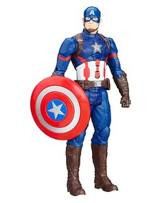 Marvel Captain America Titan Hero Figure: Marvel Captain America Civil War Electronic Titan Hero Figure - Captain America. Meet the First…