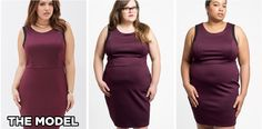 Photos Reveal How Plus-Size Clothes Actually Look on Customers, And It's Not the Same As Those Models  - Redbook.com