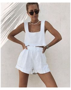Lazy Summer Outfits, Casual Summer Dresses, Short Outfits, Outfits For Teens, Cute Simple Outfits, Classy Outfits, Cute Outfits, Cozy Fashion, Fashion Outfits