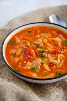 Soup Recipes, Cake Recipes, Cooking Recipes, Snacks Für Party, Health Eating, I Foods, Thai Red Curry, Food And Drink, Menu