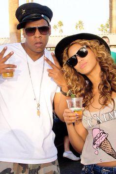 Beyonce & Jayz at Coachella, 2010